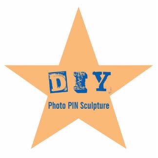 DIY - Escultura de la foto del Pin Pin Fotoescultura