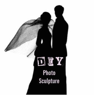 DIY - Escultura de la foto Fotoescultura Vertical