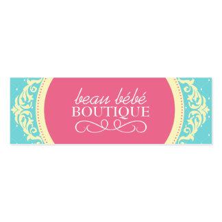 DIY - Etiquetas colgantes del boutique de los Tarjetas De Visita Mini