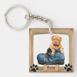 DIY Family Pet Photo Keychain