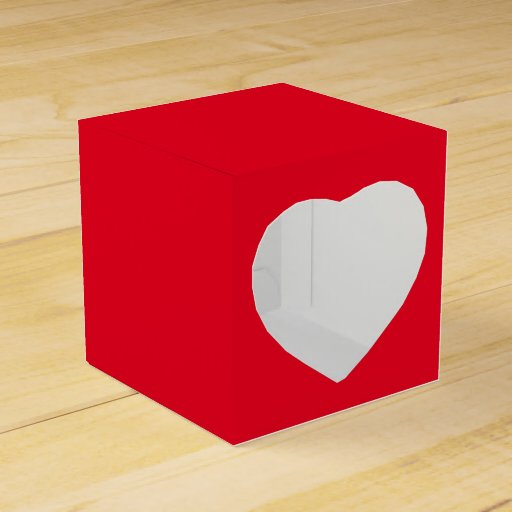 Diy Christmas Favor Boxes : Diy favor gift boxes heart christmas zazzle