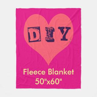 DIY - Fleece Blanket
