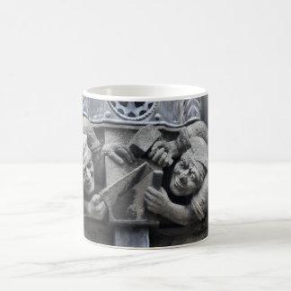 DIY gargoyle mug