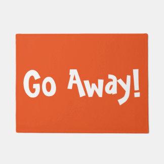Go Away Doormats Welcome Mats Zazzle