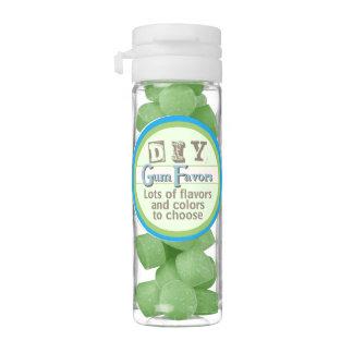 DIY - Green Watermelon Flavor Chewing Gum Favors