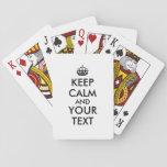 DIY guardan la cubierta de tarjetas tranquila para Cartas De Póquer
