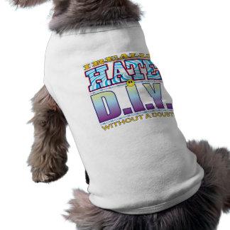 DIY hate Face Doggie T-shirt