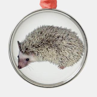 DIY Hedgehog left Metal Ornament