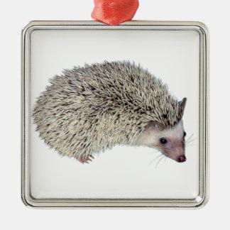DIY Hedgehog right Metal Ornament