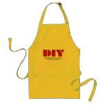 DIY I am busy Adult Apron