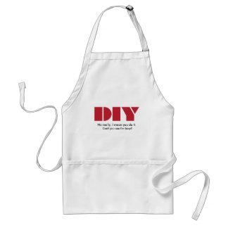 DIY I am busy Apron