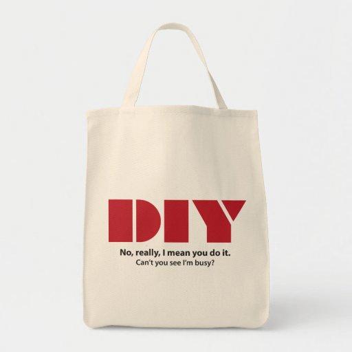 DIY I am busy Bags