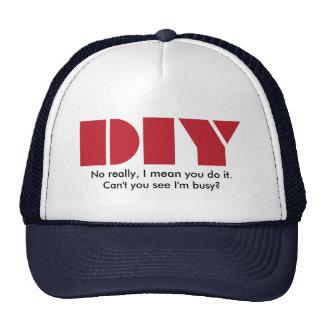 DIY I am busy Hat