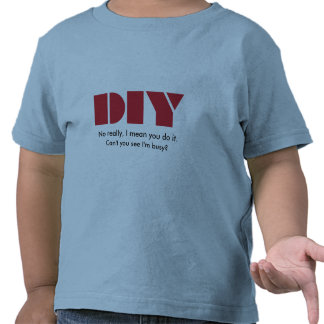 DIY - I am busy Kids T-Shirt