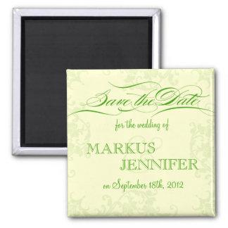 DIY Irish Wedding Save the Date Magnet