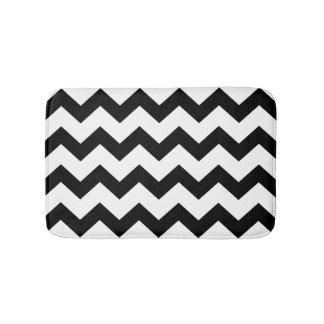 DIY Large Chevron Zigzag Pattern Custom Bathroom Mat