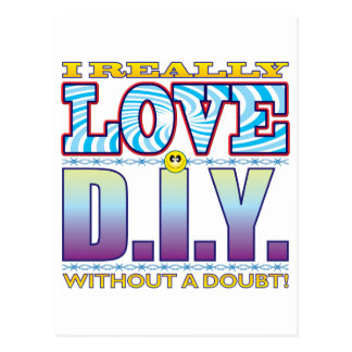 DIY Love Face Postcard