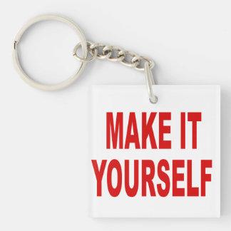DIY Make It Yourself Acrylic Key Chain