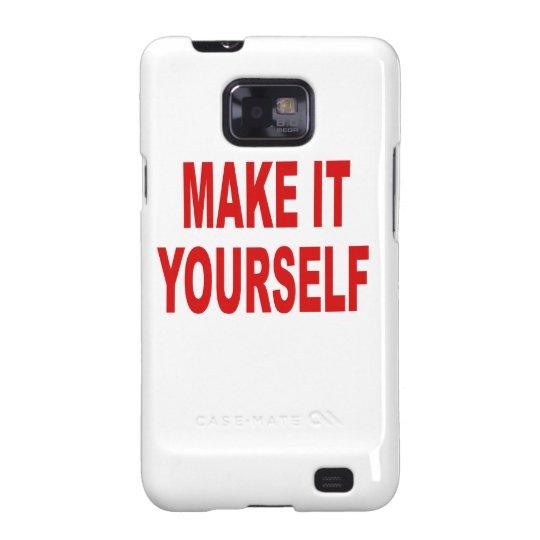 DIY Make It Yourself Custom Samsung Galaxy Samsung Galaxy S2 Case