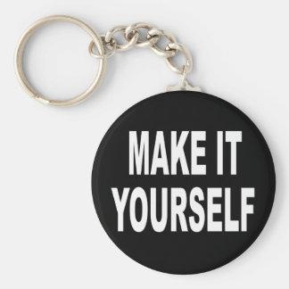 DIY Make It Yourself Keychain
