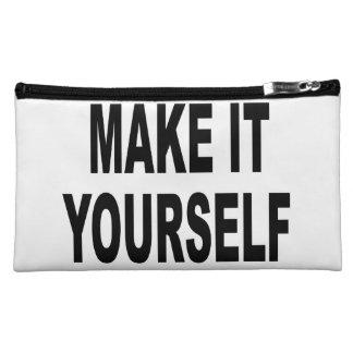 DIY Make It Yourself Makeup Bag