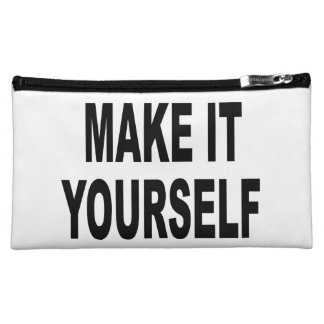 DIY Make It Yourself Makeup Bags