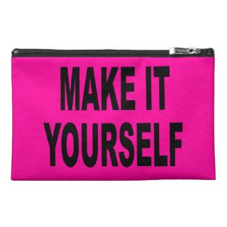 DIY Make It Yourself Travel Accessory Bag