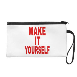 DIY Make It Yourself Wristlet Clutches