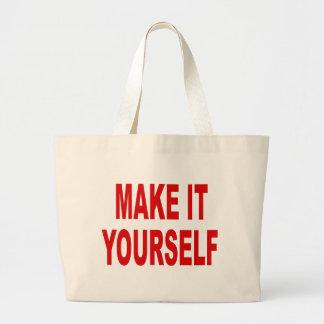 DIY Make Your Own Jumbo Tote Bag