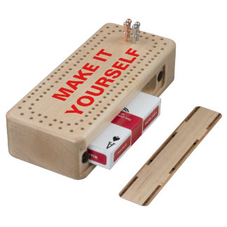 DIY Make Your Own Maple Cribbage Board
