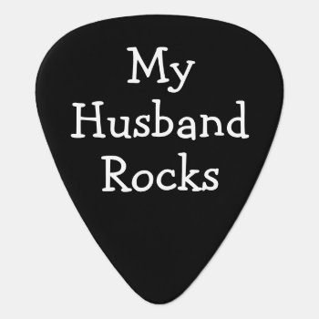 Diy Make Your Own Personalized Rocks Guitar Pick by Ricaso_Designs at Zazzle