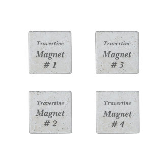 DIY Make Your Own Stone Magnets V03A Travertine