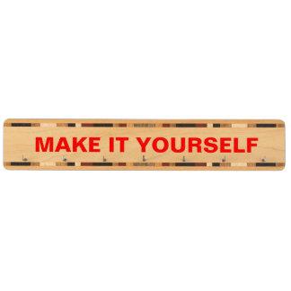 DIY Make Your Own Wood Keyrack