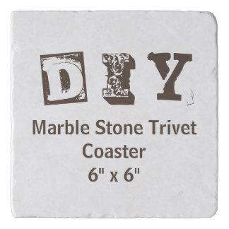 "DIY - Marble Stone Coaster 6""x6"" Trivet"