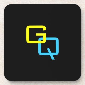 "DIY Monogram - Coaster 3.8""x3.8""/ 6 Set High Gloss"