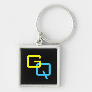 "DIY Monogram ~ Square Keychain 1.38"""