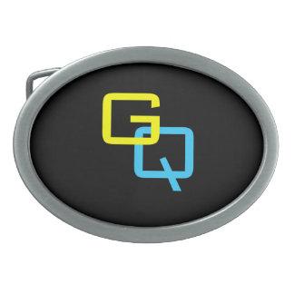DIY Monogram - Unisex (More Options) Oval Belt Buckle