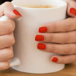 DIY Nails Design NailCovering RedLIPSkiss Lip KISS Minx ® Nail Art