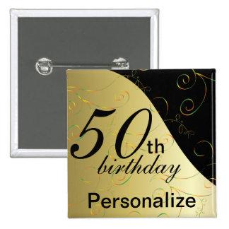 DIY Name & Age Birthday Button