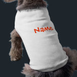 """DIY Name - Dog Apparel Tank Top White<br><div class=""""desc"""">***TEND TO RUN A BIT SMALL*** DIY / Do it yourself and save money. Add your own favorite design or photograph and make your own unique work of art. Very easy and fun! Express yourself! TO CUSTOMIZE: To change design, style or shape, click on &quot;CUSTOMIZE IT&quot;, after your are done...</div>"""