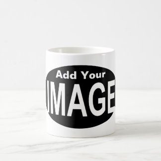 DIY One-of-a-kind Oval Photo Gift You Create 2 Coffee Mug