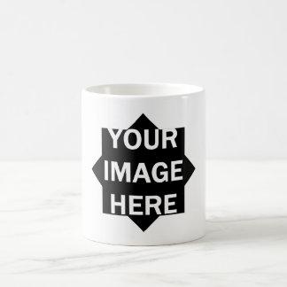 DIY One-of-a-kind STAR Frame Photo 5 Coffee Mug