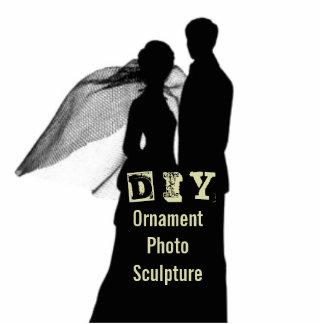 DIY - Ornament Photo Sculpture