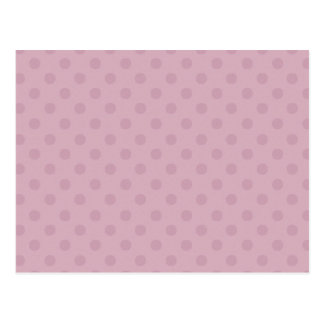 DIY PALE PINK Polka Dot Background Gift Item Postcard