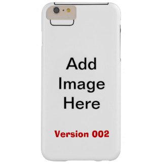 DIY personalizan su plantilla V002 de la CAJA de Funda De iPhone 6 Plus Barely There