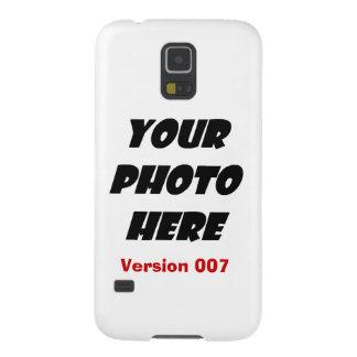 DIY personalizan su plantilla V007 de la CAJA de Carcasas De Galaxy S5