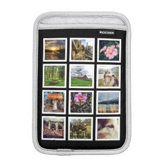 DIY Personalized Dozen Instagram Photos iPad Mini Sleeve