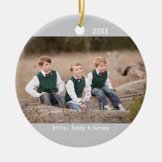 DIY - Photo on an Ornament