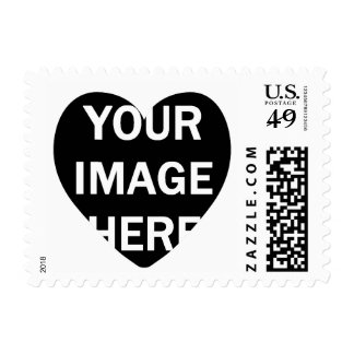 DIY Photo Stamp with Heart Frame A02