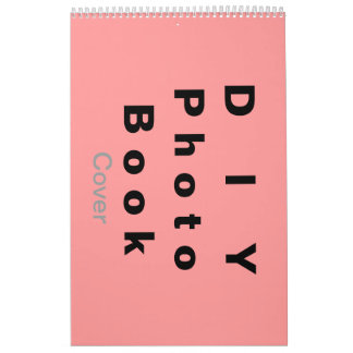 DIY ~ Photobook 26 Pages / Size 11x17 Wall Calendars
